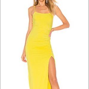 Lovers & Friends Kiki dress, size M, yellow.